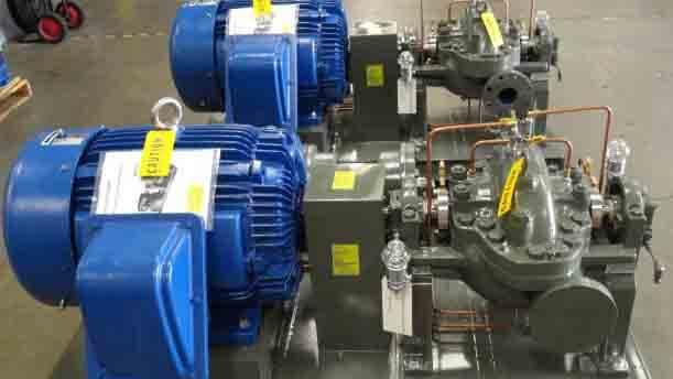 industrial pump system