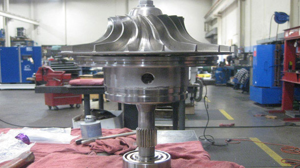 industrial pump fabrication