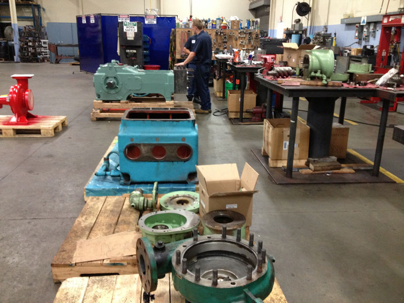 Ship it & We'll FIX It! Industrial Pump Repair