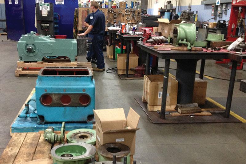 industrial pumps ship it & we'll fix it